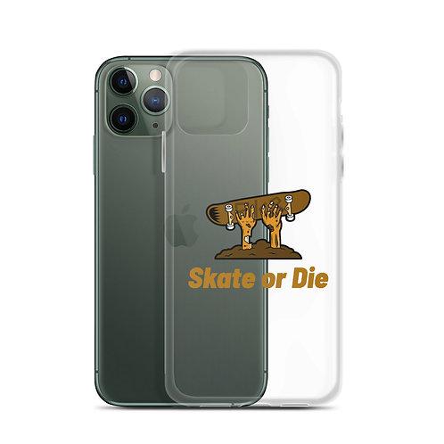 """""""Skate or Die"""" iPhone Case"""