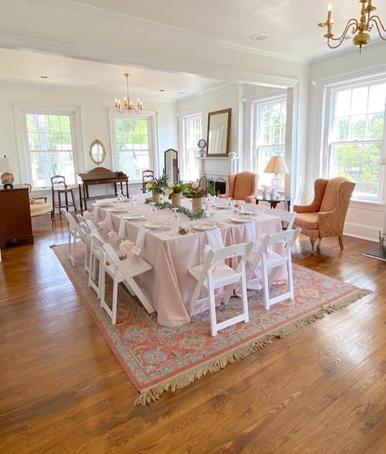 Bridal Dinner in Bridal Suite
