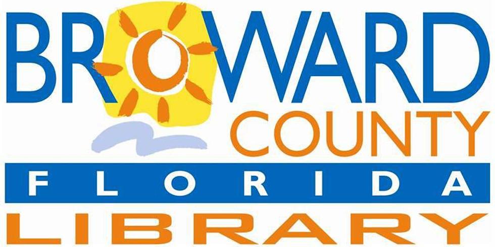 Color Me Vivid Exhibit @ Broward County Library Branch