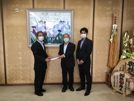 新型コロナウイルス感染症対応についての要望書(第2弾)を提出