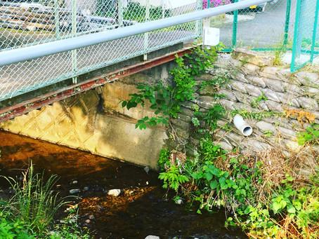 伊勢原市栗原川(串橋)に水位計が設置されます。