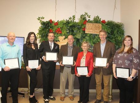 Longevity and Community Involvement Recognized by Delphos Chamber