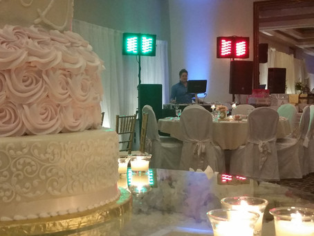 Sunny Skies for Camden Falls Bridal Show Today