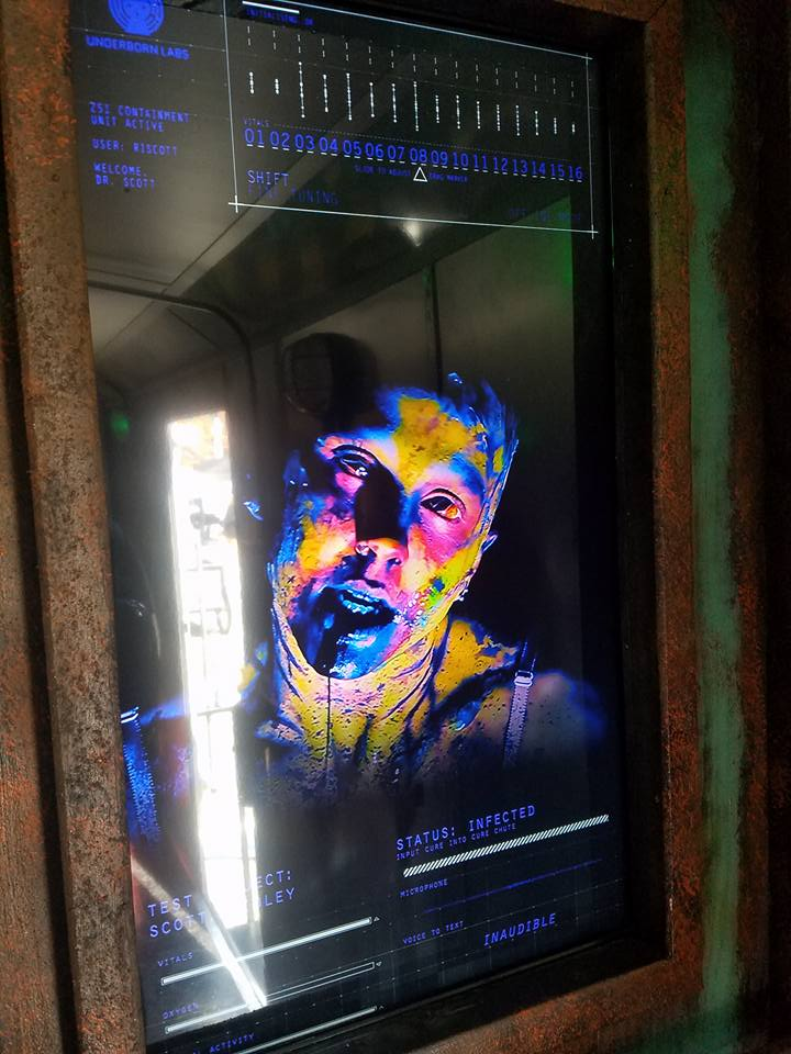 Zombie TV Screen