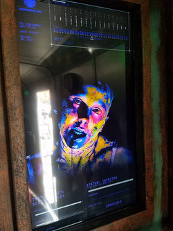 Zombie TV Screen