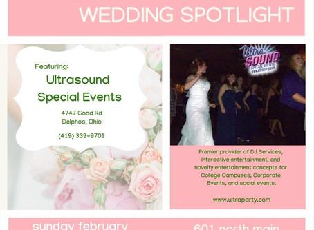 UltraSound DJ Services at Bluffton Wedding Spotlight