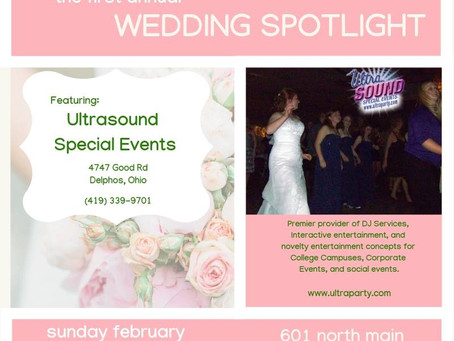 UltraSound DJ Services at Bluffton Wedding Spotlight