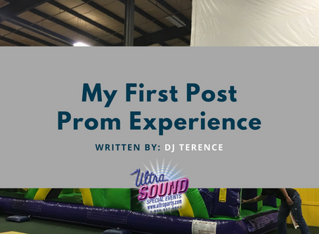 My First Post Prom Experience