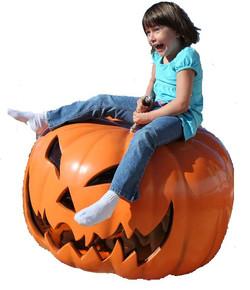 Mechanical Pumpkin Riding