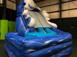 Double Lane Surf Slide