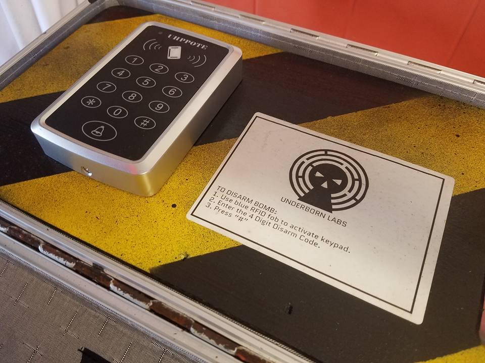 Bomb Keypad