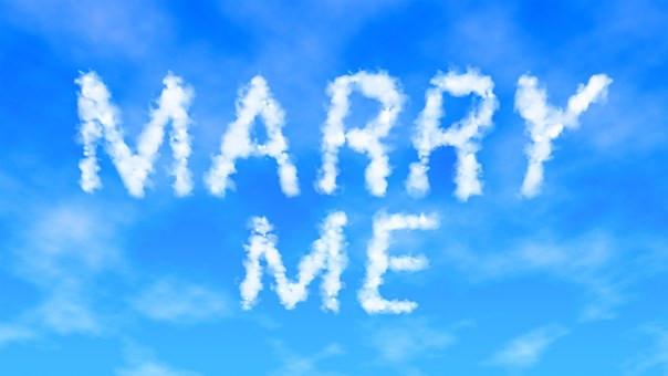 Marry me image Sky
