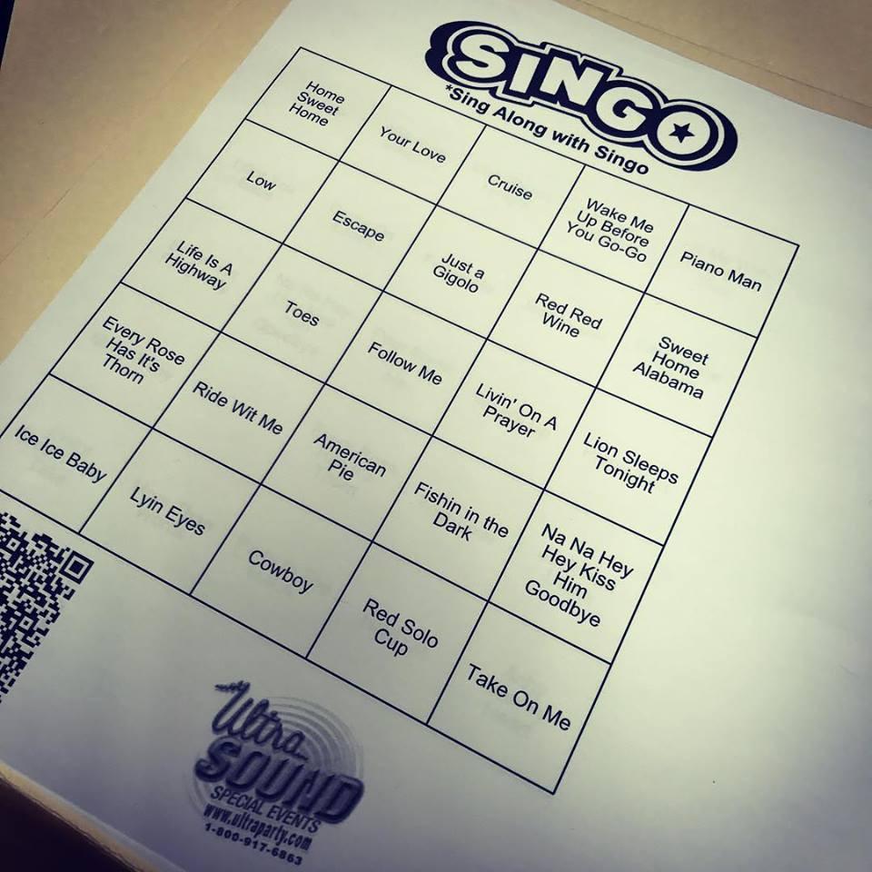 Singo card