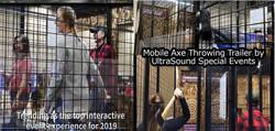 Mobile Axe Throwing Trailer