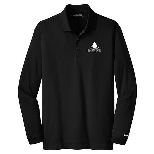 Black Nike Long Sleeve Select Source water Logo.