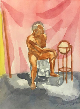 Male Model Seated