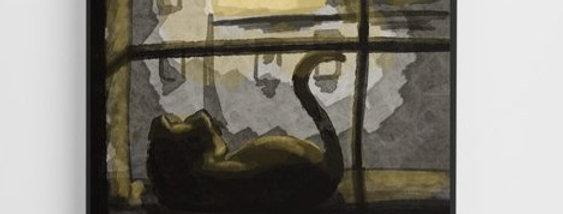 Window Cat - Canvas