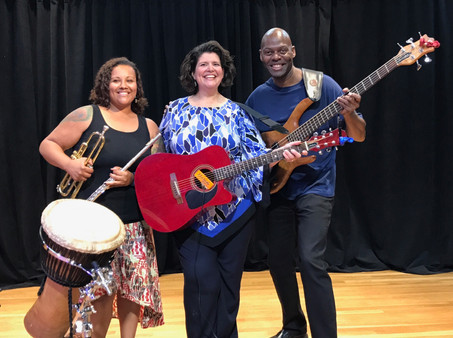 Marsha and the Positrons at the Takoma Park Community Center