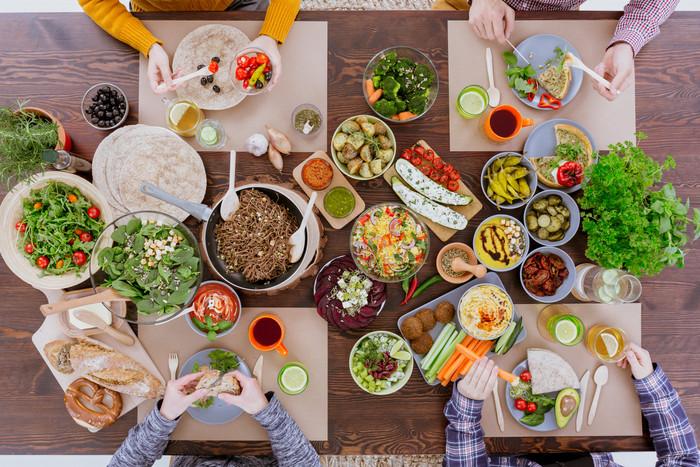 Alimentação Vegana e Vegetariana