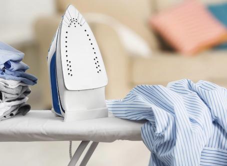 5 truques para limpar o ferro de passar roupas