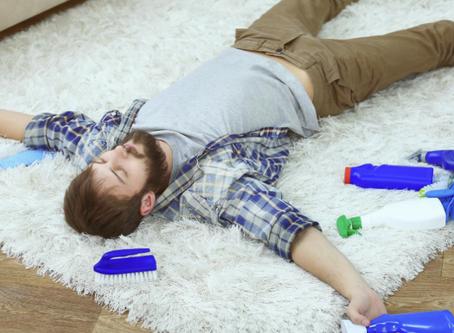 Como limpar tapetes sem sofrimento