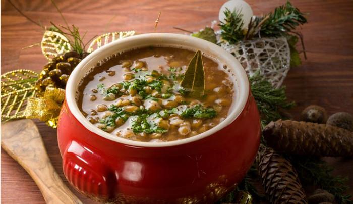 Receita de cozido de lentilha