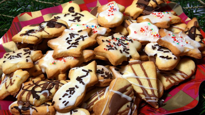 Biscoito encantado de Natal