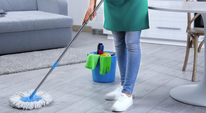Mop para limpar diferentes pisos
