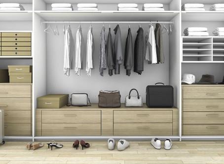 7 dicas para um guarda-roupa limpo e organizado