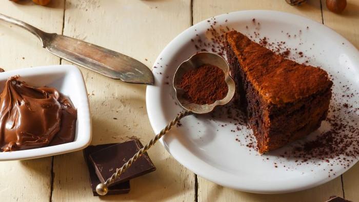 Torta de creme de avelã
