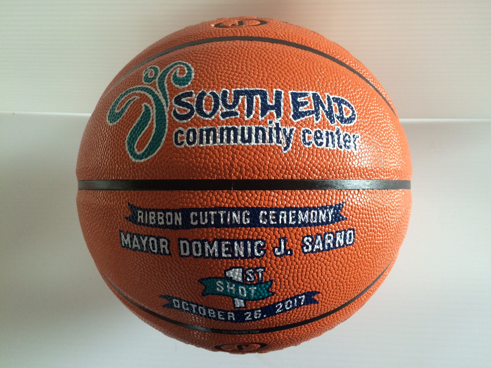 Custom basketball for awards & gifts