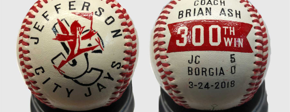Custom Decorated Softballs