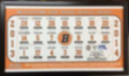 Custom Team Roster Poster