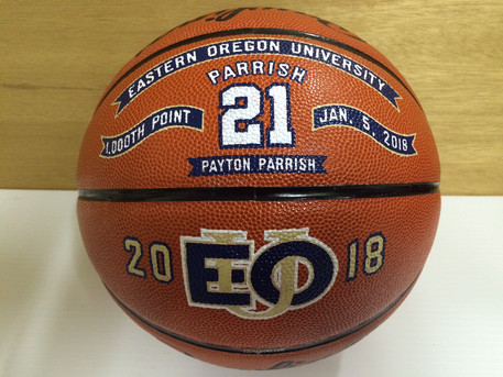 Premium Decorated 1000 point Basketballs