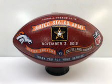 Military Appreciation Football Gifts