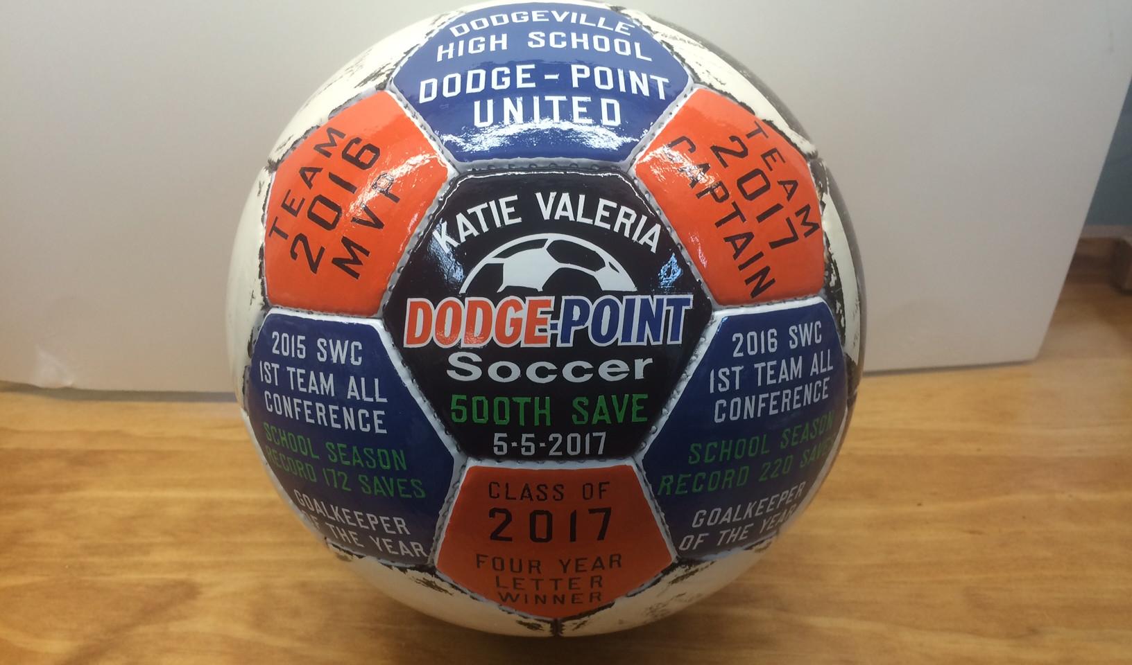 Custom Soccer Ball Awards