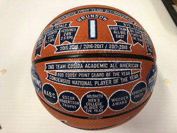 Custom Hand Painted Basketball Awards