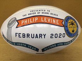Executive Football Recognition Gifts
