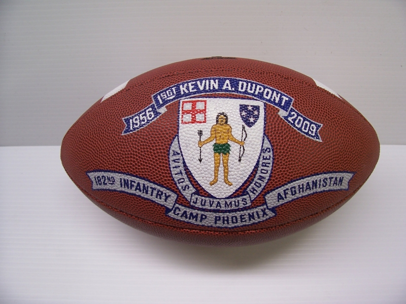Custom balls for Military gifts