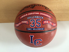 Hand Decorated 1000 point Basketball