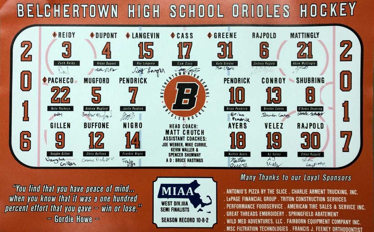 Custom Hockey Team posters