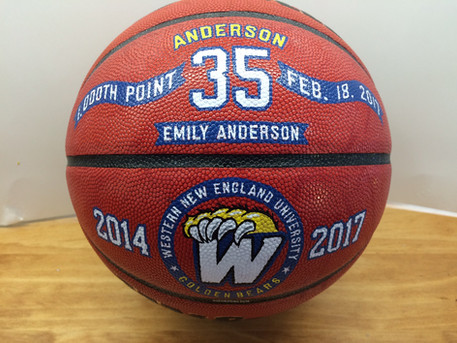 Hand Painted 1000 point Basketballs