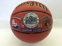 Decorated Championship Basketballs