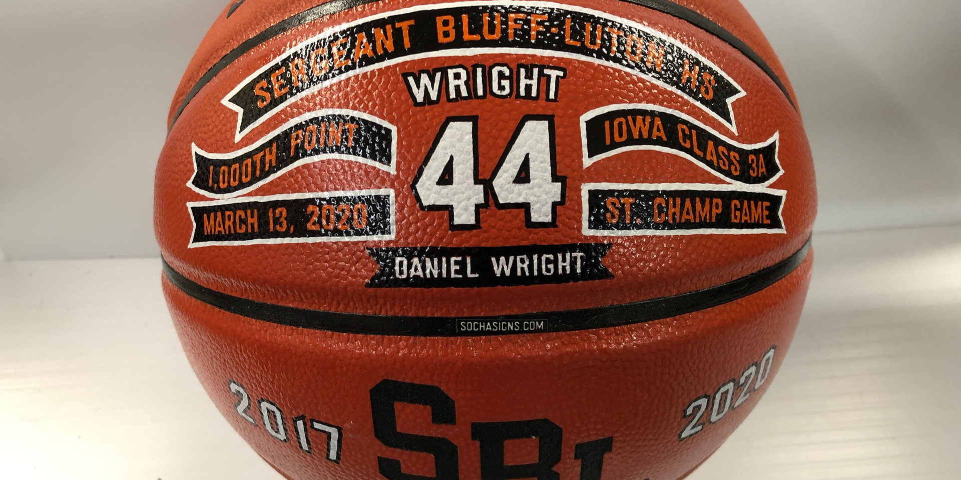 Personalized Basketballs