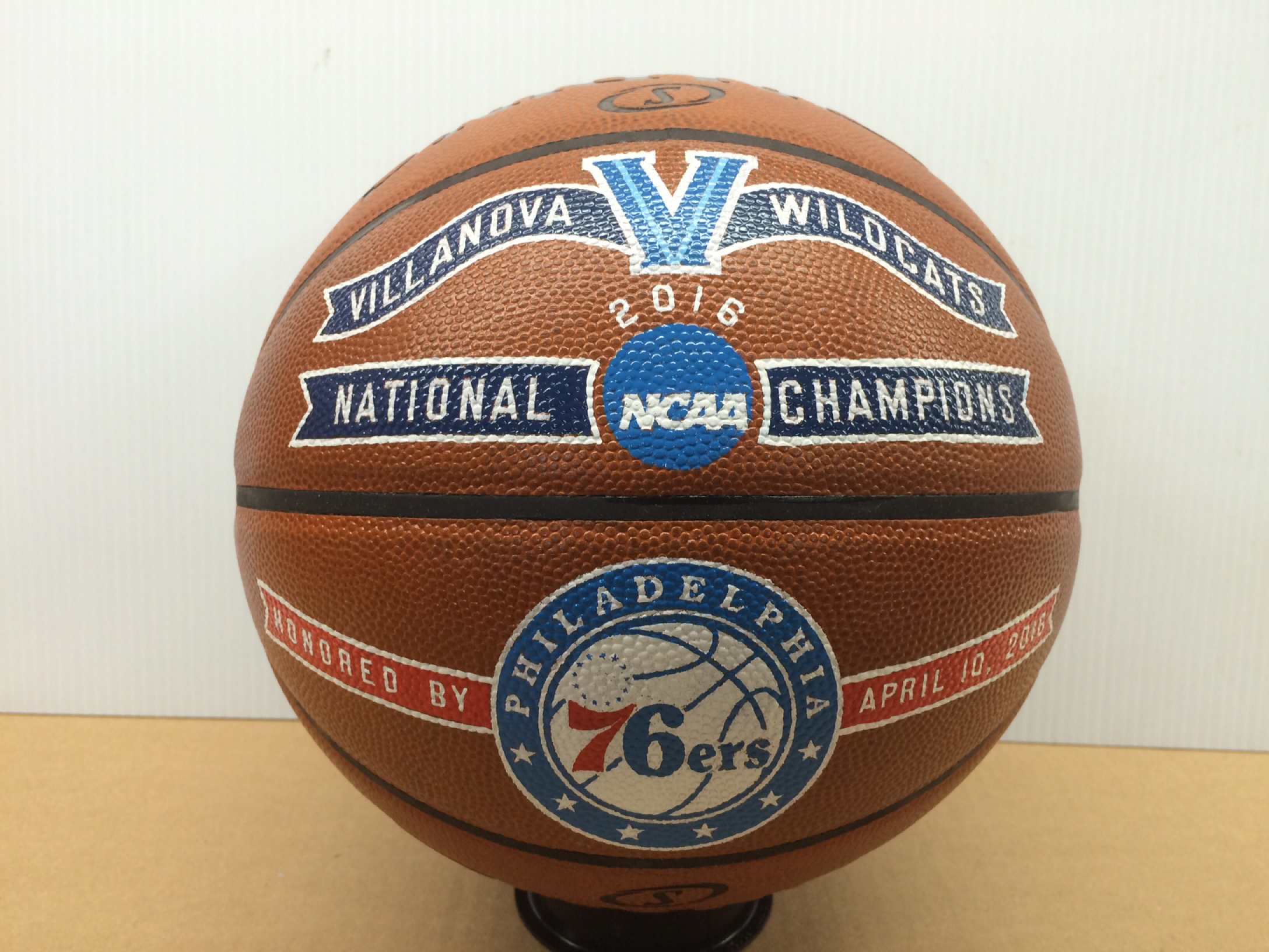 Hand painted championship ball