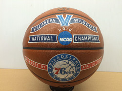 Hand painted championship ball