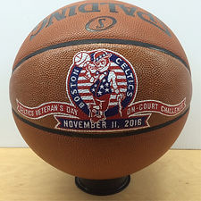 hand-painted basketball