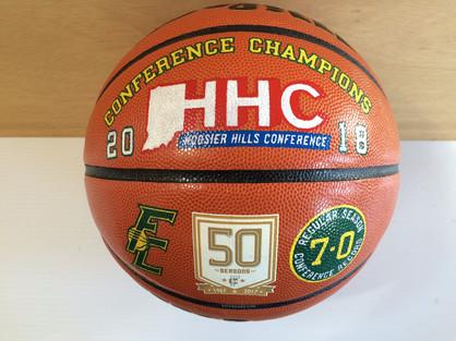 Decorated Championship Basketball