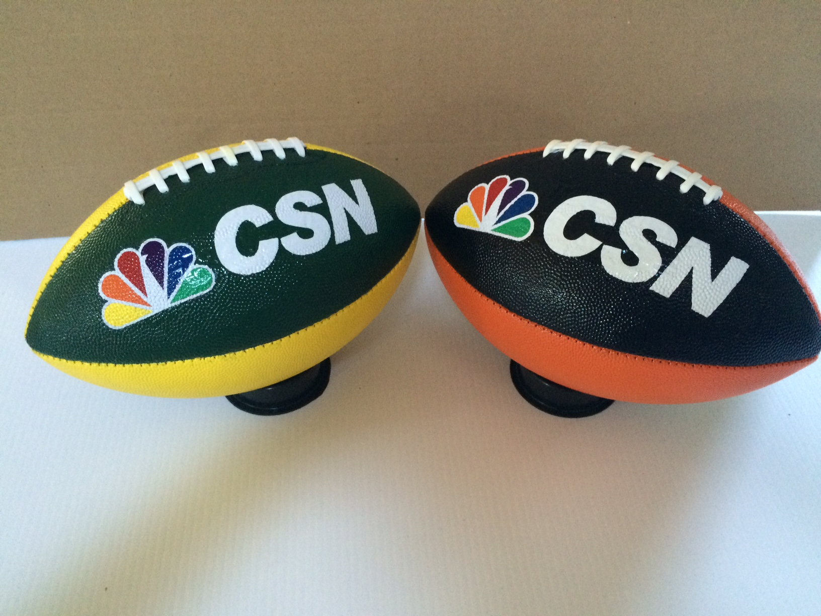 Custom football for corporate events