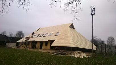 Lubiņu jumts Bauskas apkārtnē